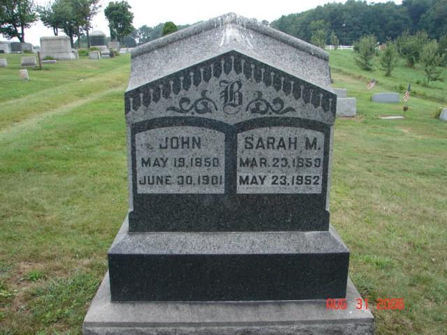 John and Sarah Baker