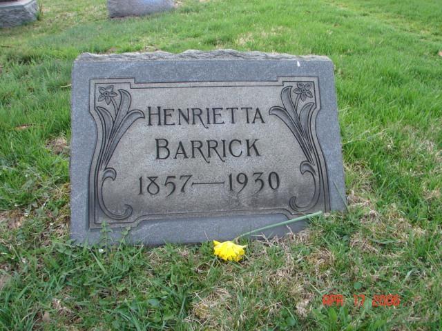 Henrietta Barrick