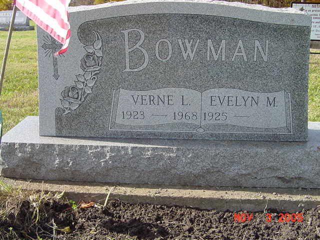 Verne and Elizabeth Bowman
