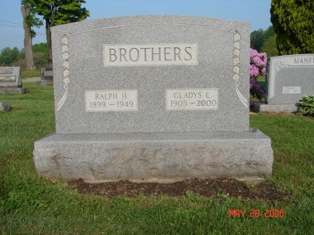Ralph and Gladys Brothers