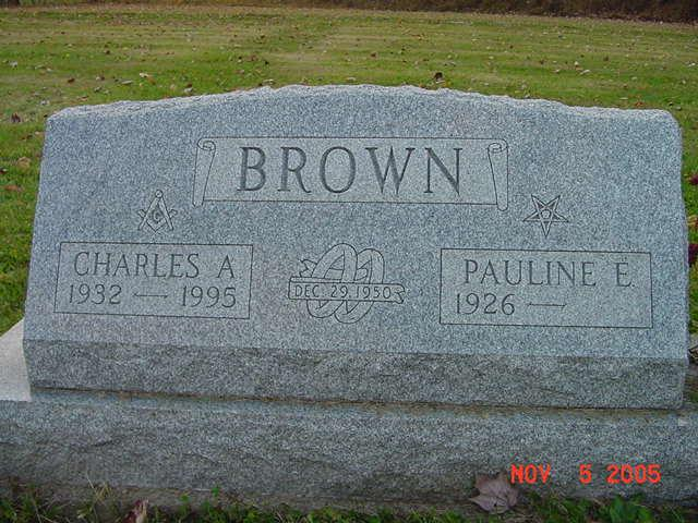 Charles and Pauline Brown