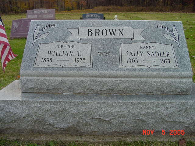 William and Sally Brown