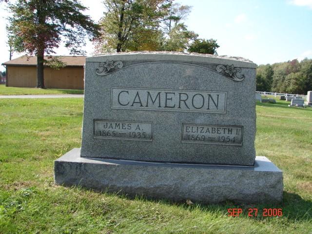 James and Elizabeth Cameron