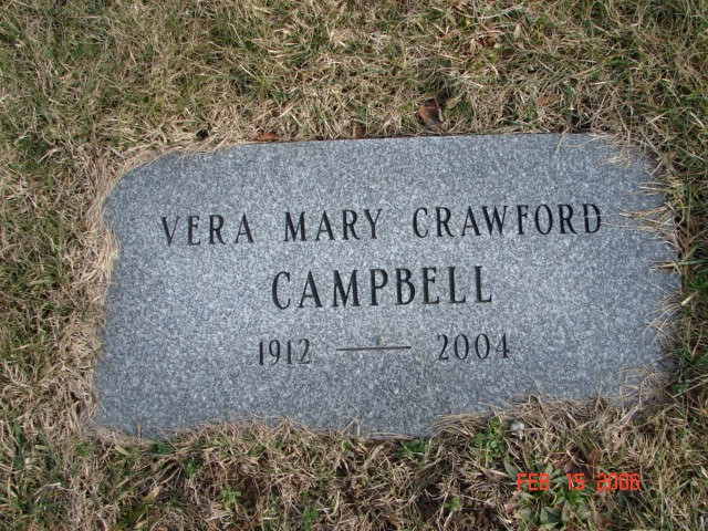 Vera Mary Crawford Campbell