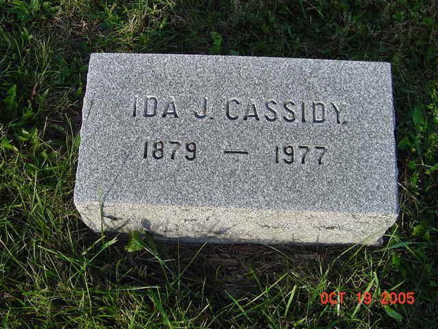 Ida J. Cassidy
