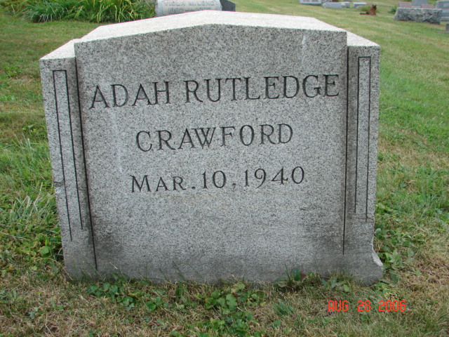 Adah Rutledge Crawford