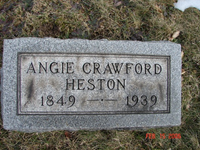 Angeline Manfull Crawford Heston