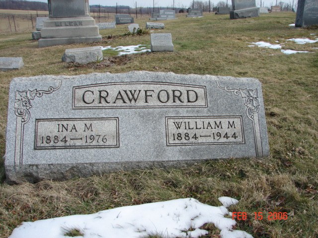 William and Ina Crawford