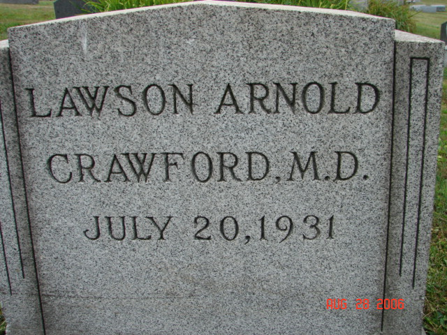 Lawson Arnold Crawford, M.D.