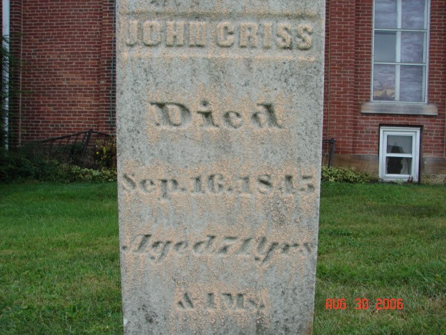 John Criss