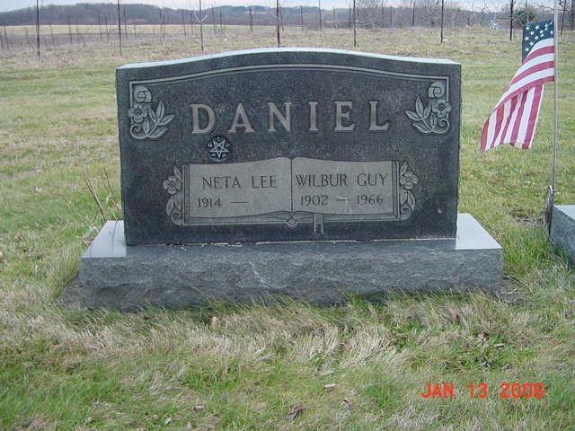 Wilbur and Neta Daniel