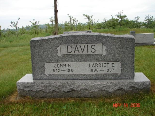 John and Harriet Davis