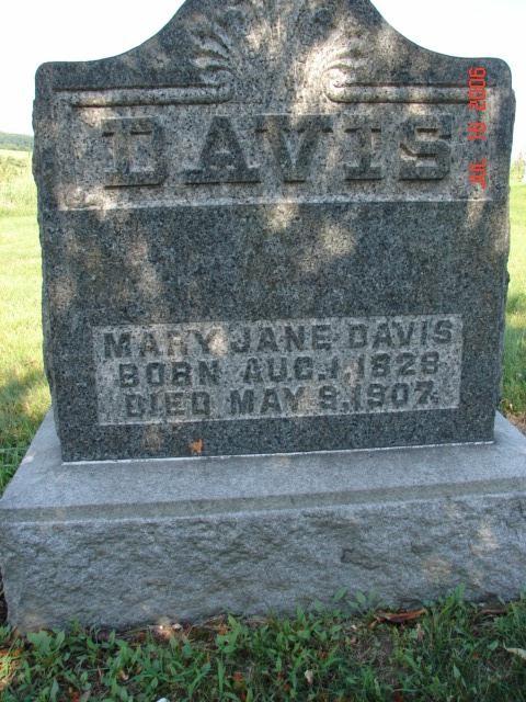 Mary Jane Heston Davis