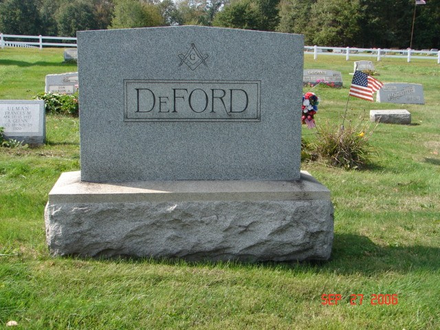 Perry and Sarah DeFord