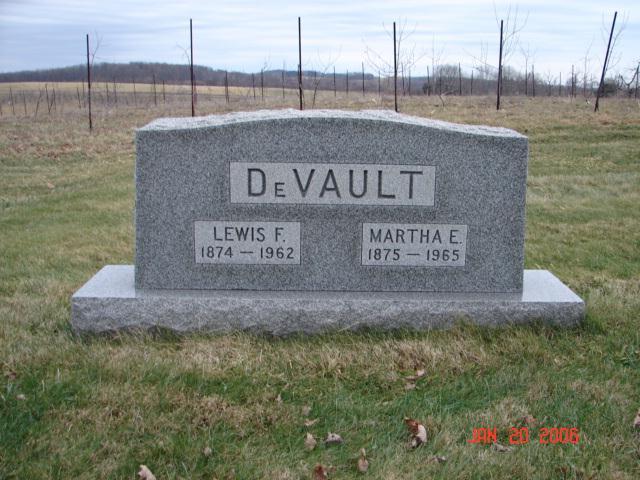 Lewis and Martha DeVault