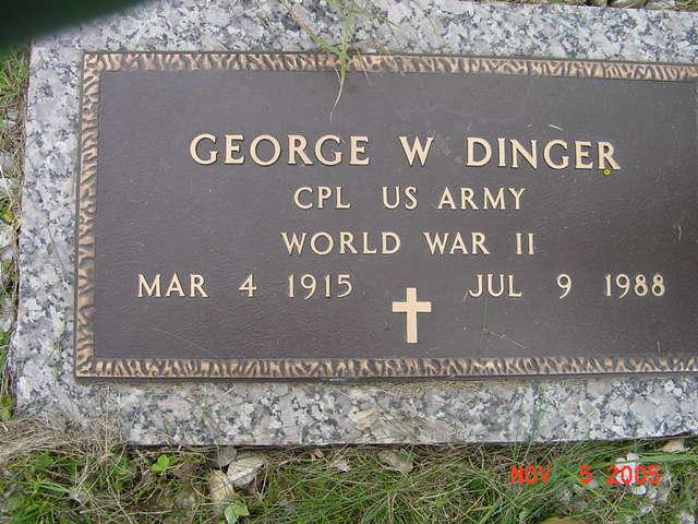 George W. Dinger