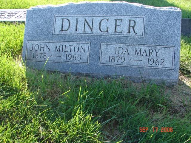 Milton and Ida Dinger