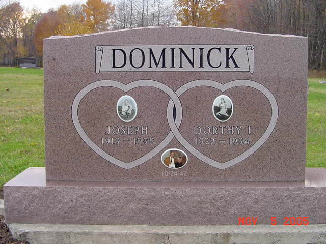 Joseph and Dorthy Dominick