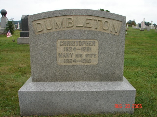 Christopher and Mary Dumbleton