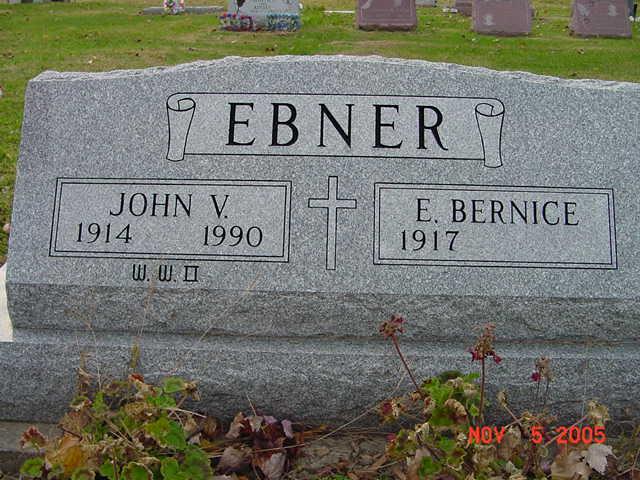 John and Bernice Ebner