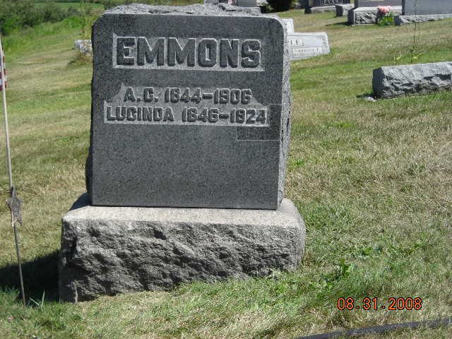 Andrew and Lucinda Emmons