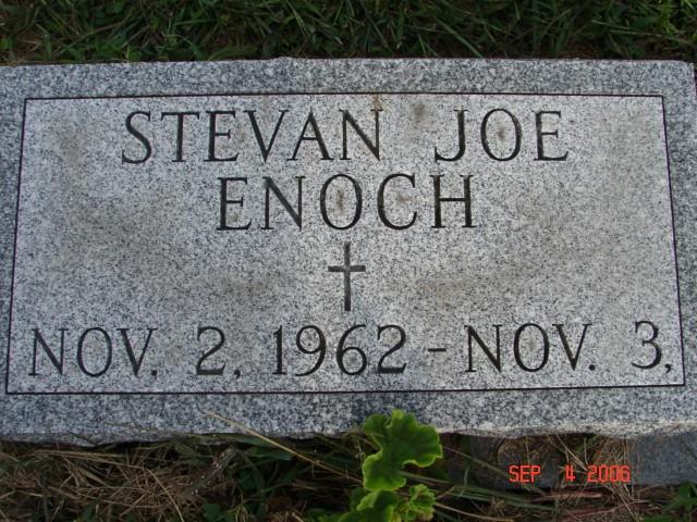 Stevan Joe Enoch