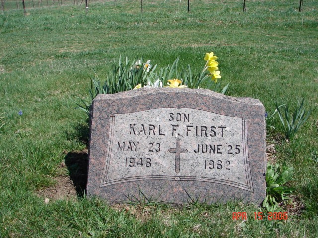 Karl F. First