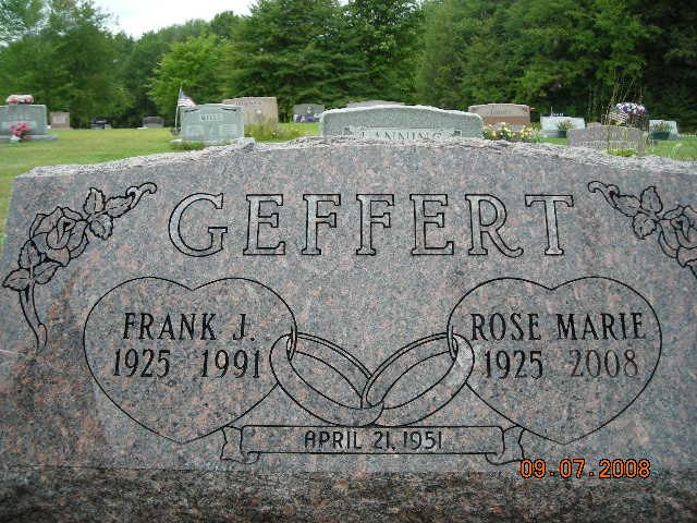 Frank and Rose Geffert