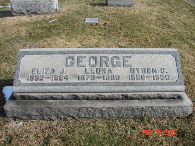 Byron, Eliza and Leona George