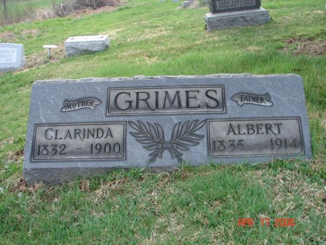 Albert and Clarinda Grimes