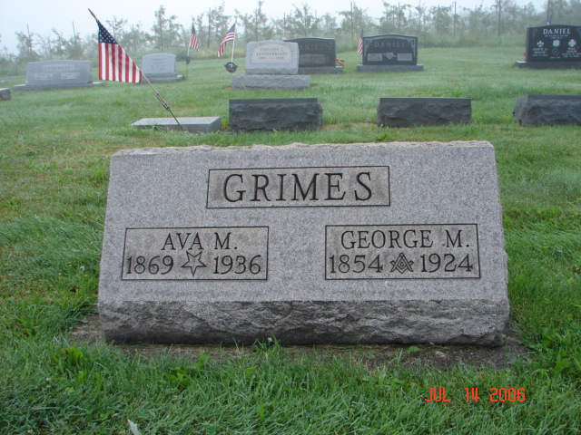 George and Ava Grimes