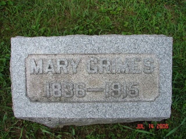 Mary Jane Roudebush Grimes