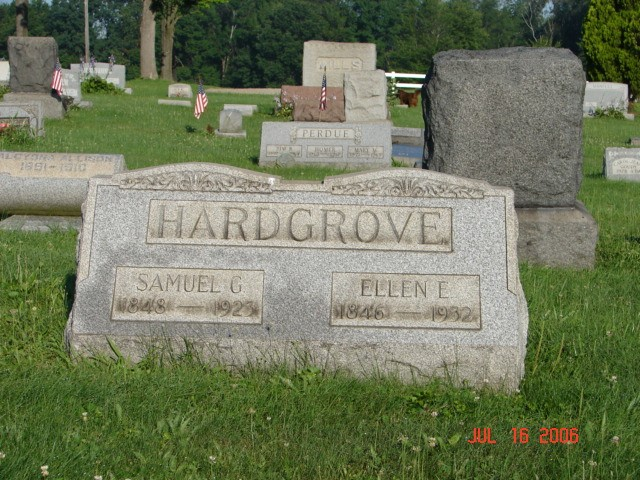 Samuel and Ellen Hardgrove