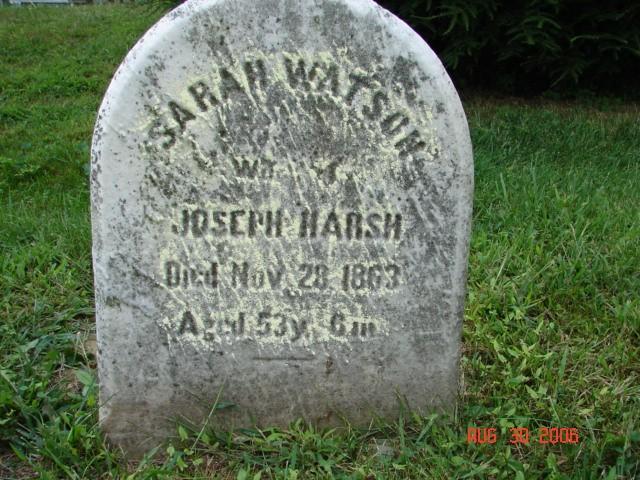 Sarah Watson Harsh