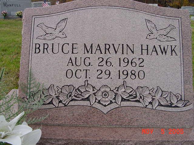 Bruce Marvin Hawk