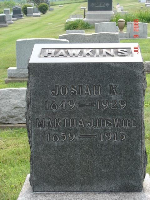 Josiah and Martha Hawkins