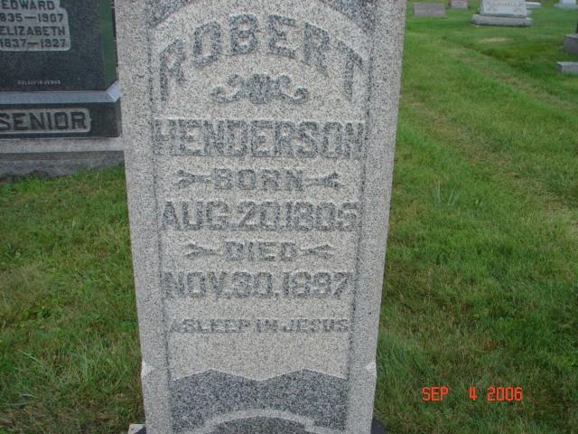 Robert Henderson
