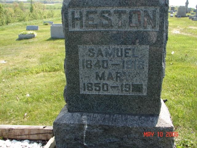 Samuel and Mary Heston