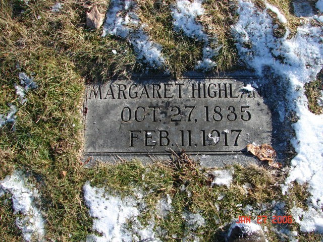 Margaret Groves Highland