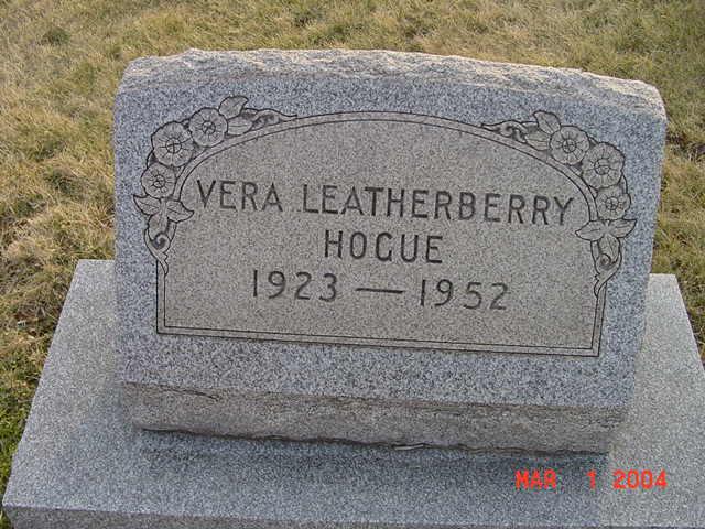 Vera Leatherberrry Hogue