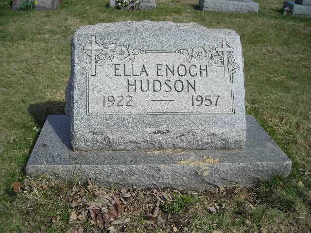 Ella Enoch Hudson