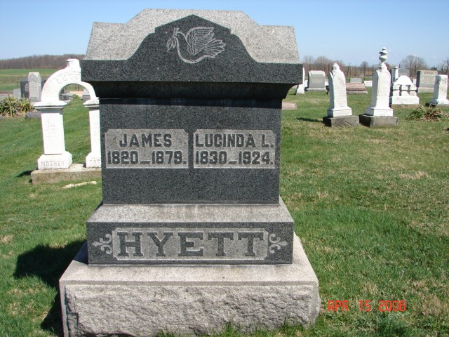 James and Lucinda Hyett