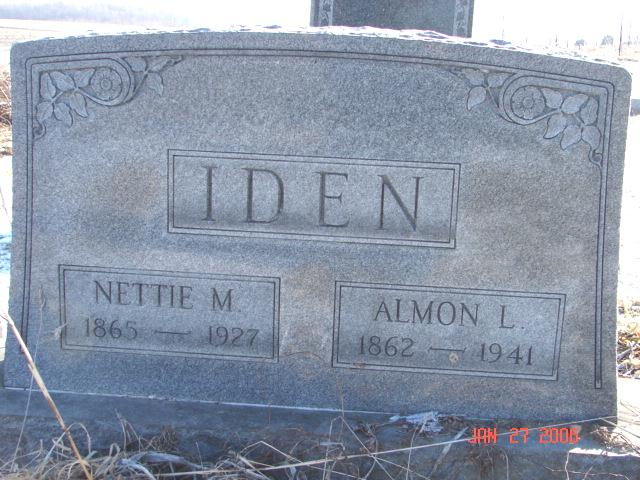 Almon and Nettie Iden