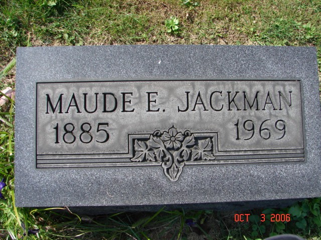 Maude E. Jackman