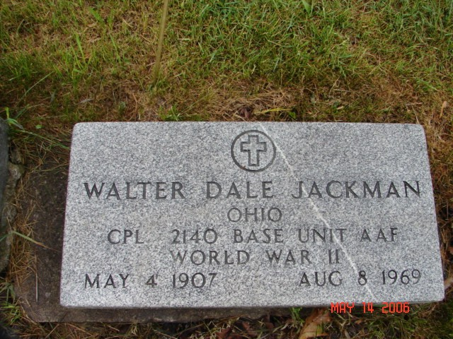 Walter Dale Jackman
